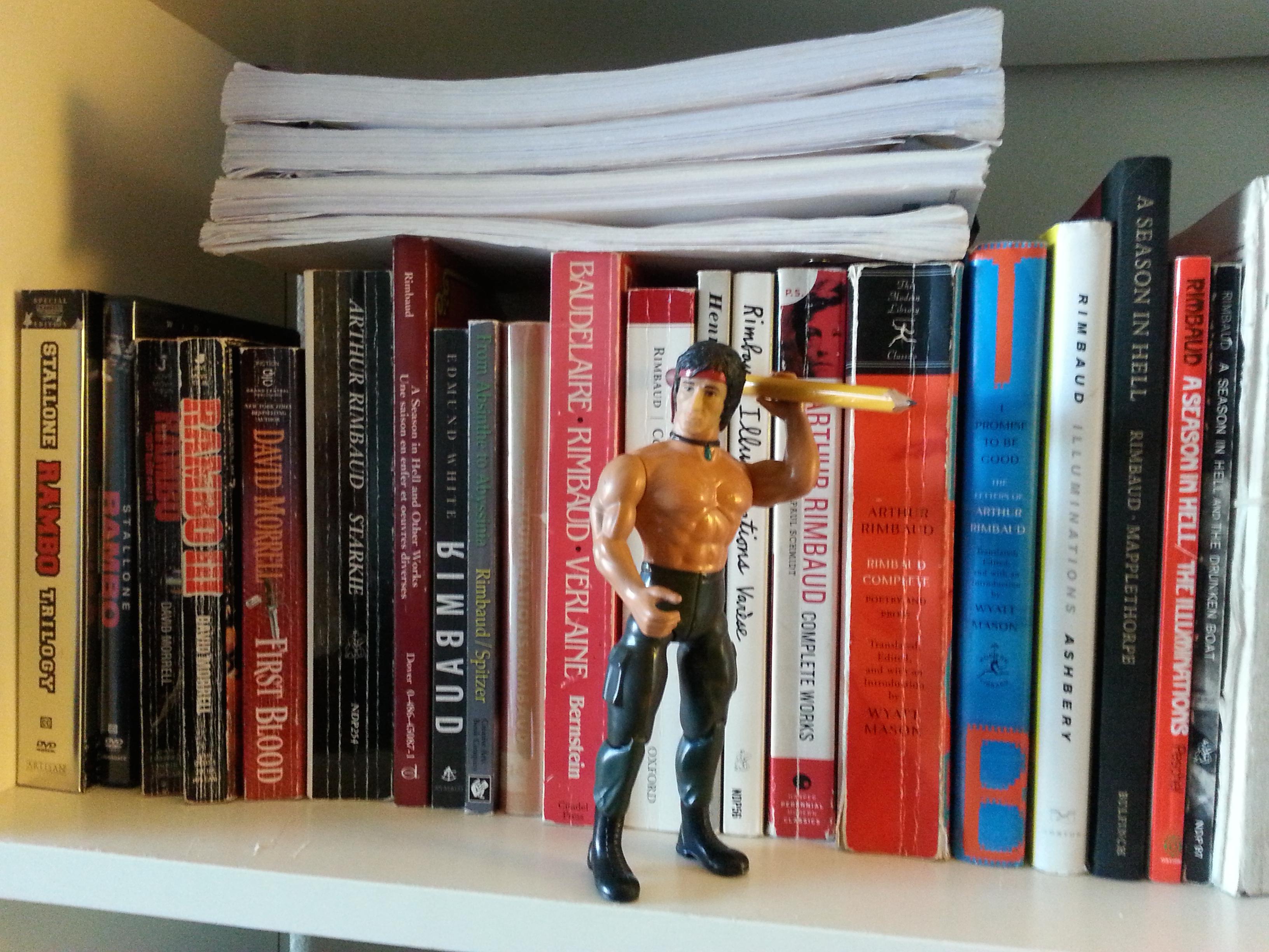 RamboRimbaudBookshelf